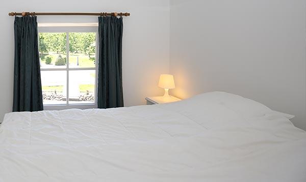 Vakantiewoningen slaapkamer